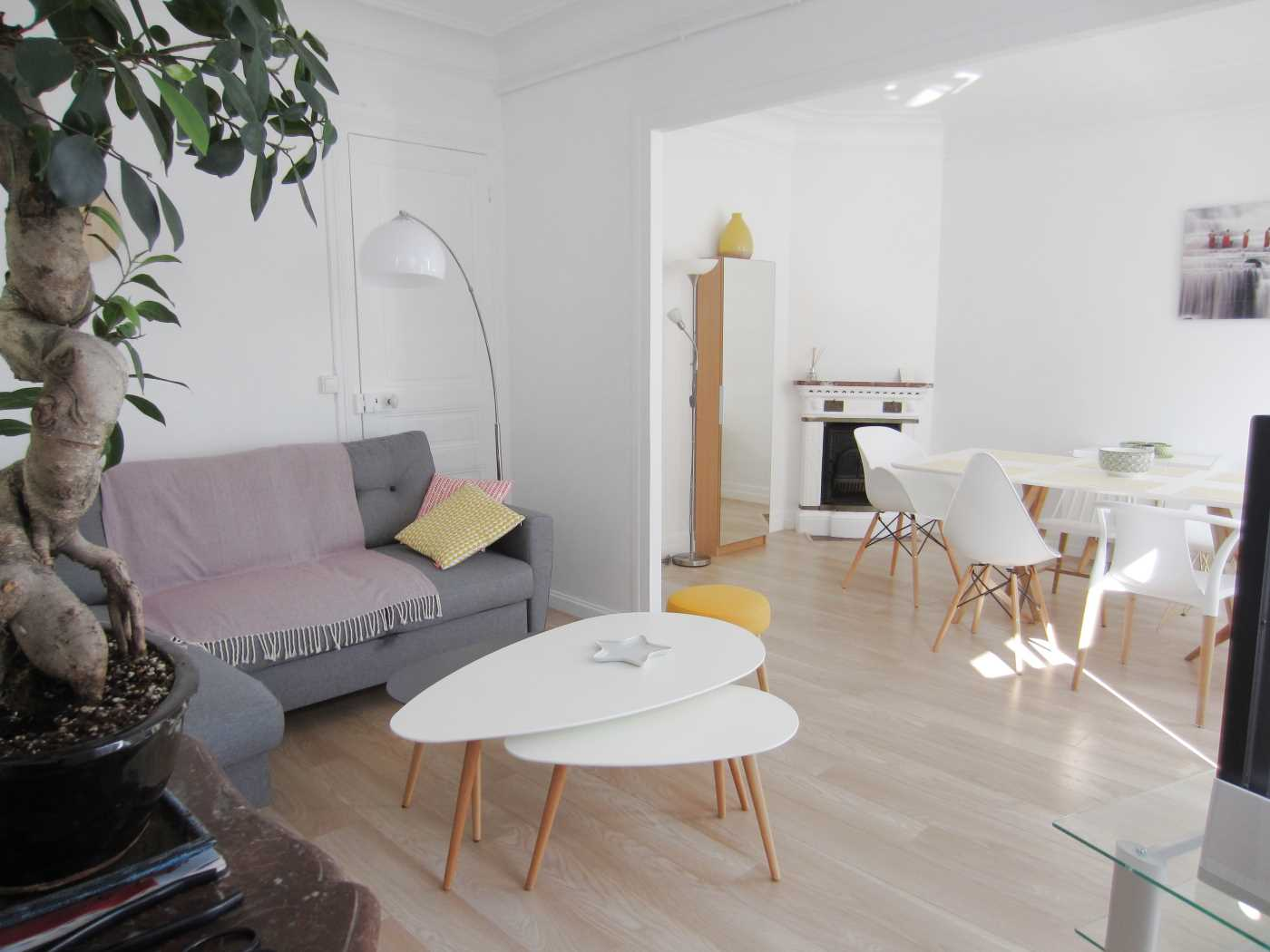Location appartement meubl paris 15 cattalan johnson for Appartement meuble location paris