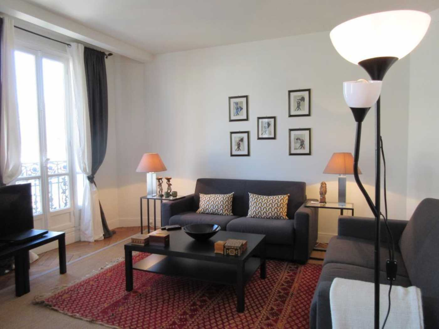 Location Appartement Meublé PARIS Cattalan Johnson Immobilier - Location appartement meuble paris 15